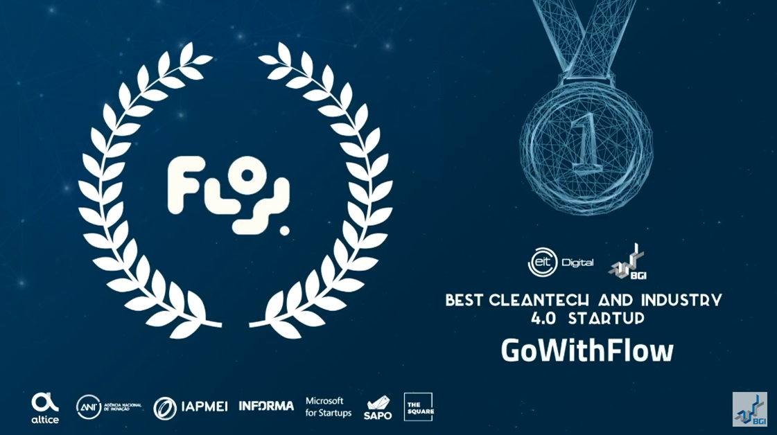 GoWithFlow Named Portugal's Best CleanTech and Industry 4.0 Startup of 2020