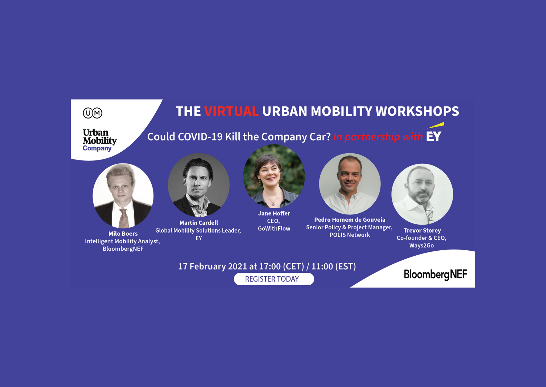 Flow CEO Jane Hoffer at the Virtual Urban Mobility Workshop